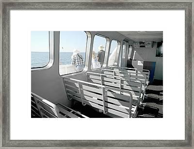 Harbor Cruise Framed Print