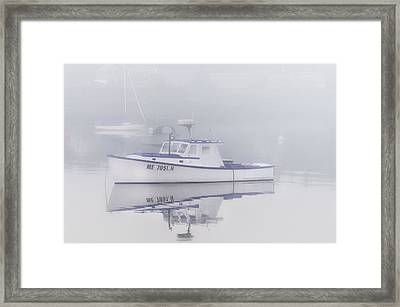 Harbor Mist   Framed Print by Thomas Schoeller