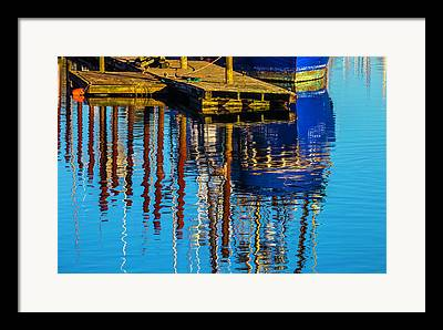 Oregon Fishing Boats Framed Prints