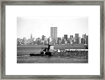 Harbor View 1990s Framed Print by John Rizzuto