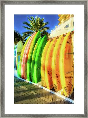 Framed Print featuring the photograph Harbor Walk At Destin Florida # 7 by Mel Steinhauer