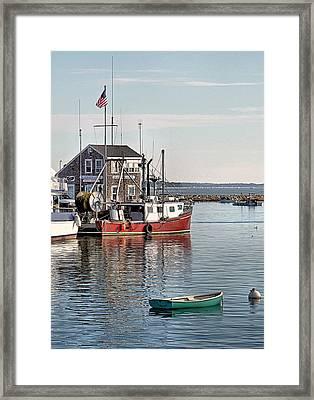 Harbormaster Shack Framed Print