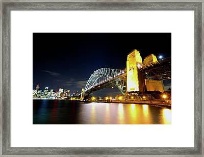 Harbour City Framed Print