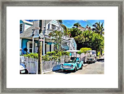 Harbour Island  Framed Print by Carey Chen