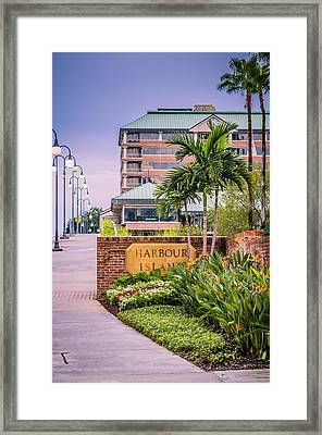 Harbour Island Retreat Framed Print