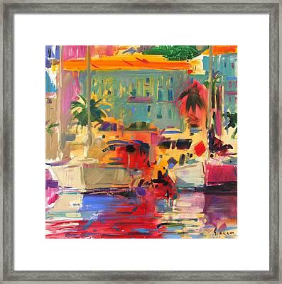 Harbour Light Framed Print