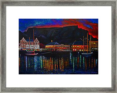 Harbour Lights Framed Print by Michael Durst