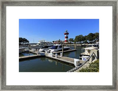 Harbour Town Hilton Head Island South Carolina Framed Print