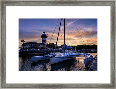 Harbour Town Sunrise II Framed Print
