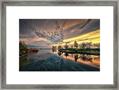 Harbour View Park Framed Print