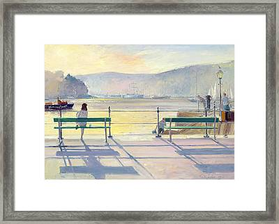 Harbour View Framed Print by Timothy Easton