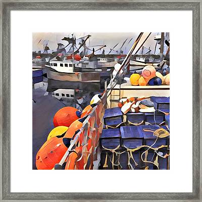 Harbour Ville Framed Print