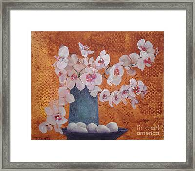 Hard And Soft Edges Framed Print by B Rossitto