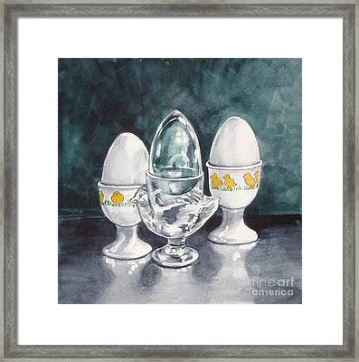 Hard Boiled Framed Print