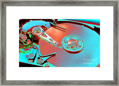 Hard Disk Framed Print