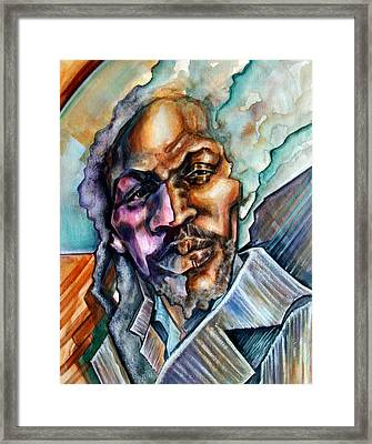 Hard-edged Sound Framed Print by Robert  Nelson