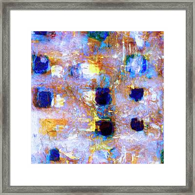 Framed Print featuring the painting Hard Eight by Dominic Piperata