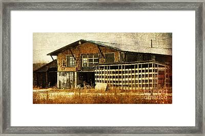 Hard Labor Framed Print by Lois Bryan