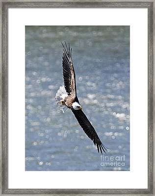 Hard Left Framed Print by Mike Dawson