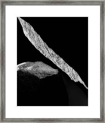 Hard Light Framed Print by Joseph Smith