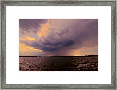 Hard Rain's Gonna Fall Framed Print by Lowlight Images
