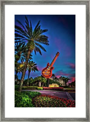 Hard Rock Framed Print by Marvin Spates