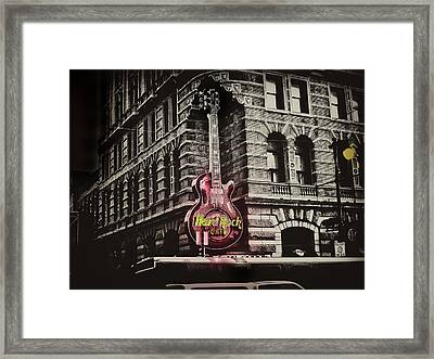 Hard Rock Philly Framed Print by Bill Cannon