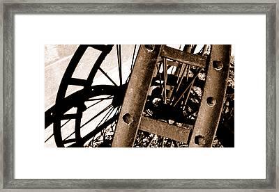 Hard Shadow Framed Print by Steven Milner