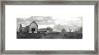 Hard Times Framed Print by Jonathan Baldock