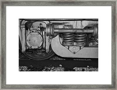 Hard Wheel Framed Print by Jonathan Brown