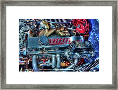 Hardcore Framed Print by Joetta West