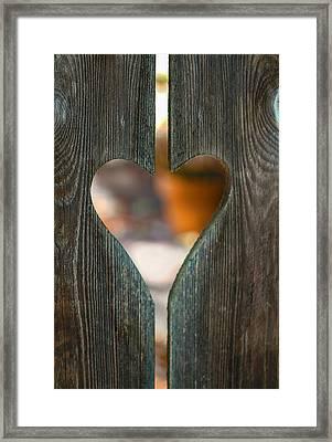 Harden Not Your Heart Framed Print