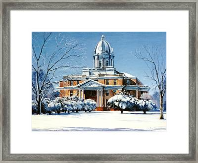 Hardin County Courthouse Framed Print