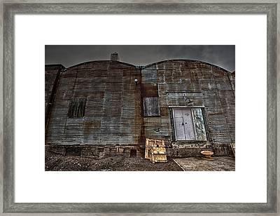 Hardisty Street Warehouse Framed Print