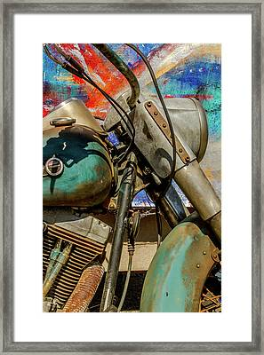 Harley Davidson - American Icon II Framed Print by Bill Gallagher