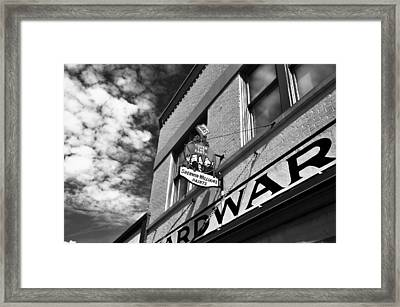 Hardware Framed Print by David Lee Thompson