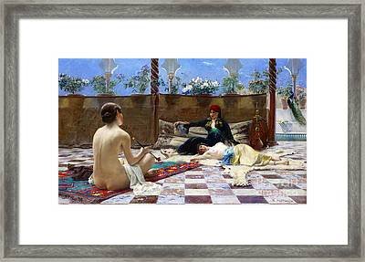 Harem Girls 1893 Framed Print