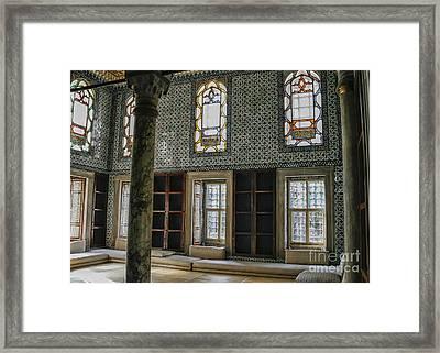Harem In Topkapi, Istanbul Framed Print