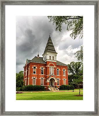 Hargis Hall - Auburn University Framed Print