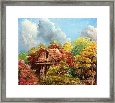 Hariet Framed Print