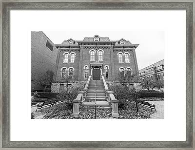 Harker Hall University Of Illinois  Framed Print