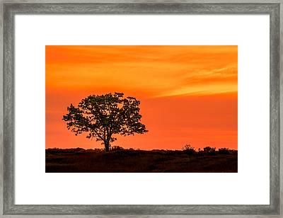 Harlan Hills Framed Print by Todd Klassy