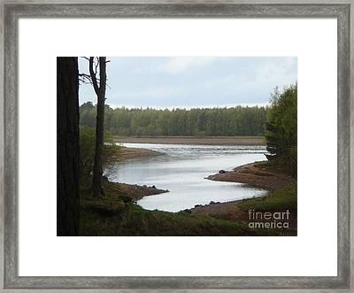 Harlaw Reservoir 1 Framed Print