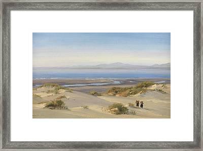 Harlech Beach Framed Print