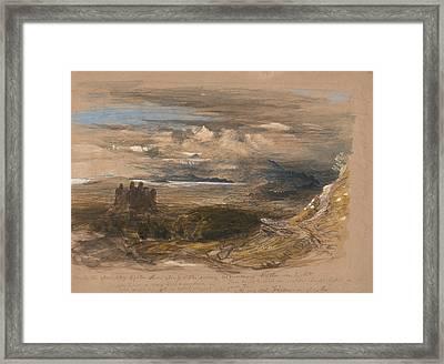 Harlech Castle Framed Print by Samuel Palmer