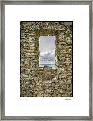 Harlech Cloud Framed Print