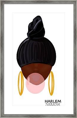 Harlem Pop Framed Print by Sabash Hq