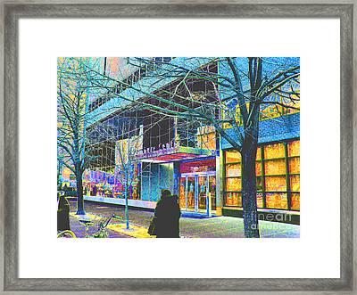 Harlem Street Scene  Framed Print