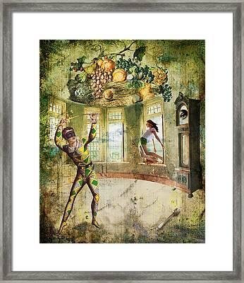 Harlequin Framed Print by Van Renselar