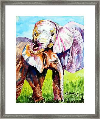 Harley And Bentley Framed Print by Maria Barry
